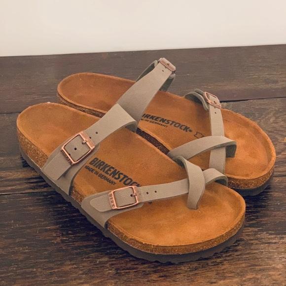 d097a6ad2 Birkenstock Shoes | New Mayari Stone Color 37 | Poshmark